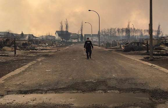 Helping The Victims Of Fort McMurray